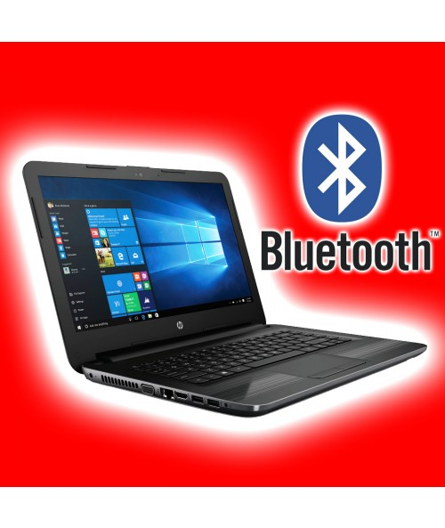 Portatil HP 14 Pulgadas - Modelo 2018 · Bluetooth · Garantia 2 Años · Quad Core ·4GB · 500GB